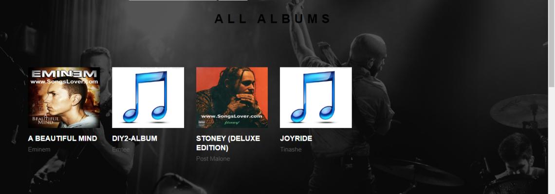 Music Website